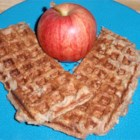 Apple Pie Waffles - A real hit in the house at breakfast time. These waffles smell and taste like an apple pie. Serve with real maple syrup or even vanilla ice cream!