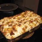Kathy's French Toast Bake - This rich and eggy breakfast casserole is perfect for feeding a crowd. Serve it with a side of fruit for a little color and sweetness.