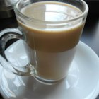 Simple Coffee Drink - Leftover coffee becomes a refreshing and sweet drink with the addition of milk and sweetener.