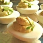 No Mayo Deviled Eggs