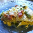 Asparagus Lasagna - This dish has a nice flavor and is fairly easy to make.  Ham, asparagus spears, mozzarella and a wonderful garlic and thyme white sauce make this lasagna different than any you have ever tasted.