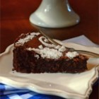 French Chocolate Cake - This classic French sponge cake is a dense cake that is delicious dusted with confectioners' sugar and served with lightly sweetened whipped cream or a fruit coulis. Cut it into 10 generous pieces.