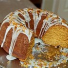 Sweet Potato Pound Cake - A light-tasting, fine-textured cake with an orange glaze.