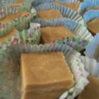 Penuche Sugar Fudge - This chocolate-free fudge with nuts is made with brown sugar and cream.