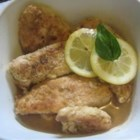 Delicious Easy Chicken Francese - A buttery lemon-wine sauce drenches lightly battered, melt-in-your-mouth chicken.