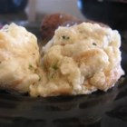 Semmelknoedel (Bread Dumplings) - My Bavarian Oma made these large dumplings to accompany roast pork or game dishes, any meat with gravy, or with mushrooms in a creamy sauce. Serve one dumpling alongside your meat, and cover with a little gravy.