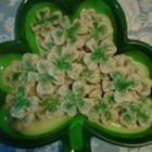 Irish Cream Sugar Cookies - These deliciously soft, moist sugar cookies have the creamy richness of Irish cream! They're wonderful as a St. Patrick's day treat or any day you're craving a sugar cookie.