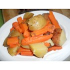 Potatoes and Carrots - This is very simple but delicious!  It is good anytime of the year and you can adjust amounts to whatever you need.