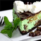 Grasshopper Cream Cheese Pie
