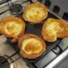 Yorkshire Pudding - A yummy and traditional addition to the holiday feast. If you intend to make this, the timing has to be juuuuust right. I would suggest preparing the mixture the evening before, and having it ready while the roast beef is cooking. Originally submitted to ThanksgivingRecipe.com.
