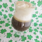 St. Michael's Irish Americano - A stout cup of coffee is spiked with Irish whiskey and cream.
