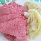 Lucky's Lucky Corned Beef and Cabbage - A nice bowl of Lucky's corned beef and cabbage will bring you luck on St. Patrick's Day or any cold day. Serve in a big bowl with bread of your choice. I like Irish soda bread with it.