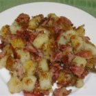Corned Beef Hash - A combination of corned beef, potatoes, and onions. A quick and easy meal.