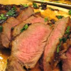 Irish Steaks - Your guests will think you went to gourmet cooking class when you present these tender sirloin steaks served with  Irish whiskey pan sauce. If you like, flame the whiskey sauce to wow your guests.