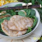 Vietnamese/Chinese Pork Chops - Vietnamese and Chinese flavors meld together in this fragrant marinade of fish sauce, lemon grass, ginger, five-spice powder, and soy sauce.