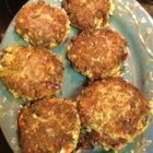 Cajun Crab Cakes (No Breadcrumbs) - These Creole-spiced crab cakes make a delicious side dish or appetizer. The key is to use a small amount of crumbled crackers instead of breadcrumbs for a lighter, less-starchy cake.