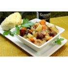 Sausage Coddle - This traditional recipe brings you Irish comfort food in the form of sausages and potatoes, baked in a creamy sauce made with Irish stout.