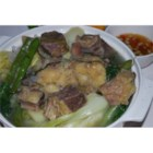 Beef Nilaga - This is another one-meal-in-a-pot dish. It contains soup, meat, and vegetables all cooked together in one delicious broth. Terrific during cooler weather.