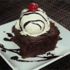 Secret Cake - This recipe was given to me by my mom's neighbor, Sharon Kelley.  It is the very best chocolate cake recipe I have ever tasted.