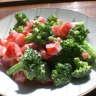 Blue Cheese Broccoli Salad - I tried this wonderful salad combination of blue cheese dressing, broccoli, and tomatoes. A great side dish and wonderful summer salad.