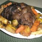 Catherine's Sirloin Tip Roast - This was my mother's signature recipe. Slice lengthwise, very thinly. Also delicious chilled, with spicy mustard on tiny party rolls.