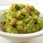 Guacamole - Cilantro and cayenne give this tasty guacamole a kick. Makes four servings.
