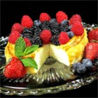 New York Italian Style Cheesecake  - Italian-style New York cheesecake is made without a crust and needs plenty of time to cool. The cream cheese, ricotta cheese, and sour cream make it rich and velvety smooth.
