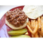 Nonie's Best BBQ - Ground beef simmers in a quick barbeque sauce in this filling recipe.