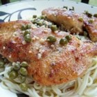 Quick Chicken Piccata - These quick and easy pan-fried chicken breasts are topped with a simple pan sauce made with capers, butter, white wine, and lemon juice.