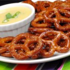Spicy Party Pretzels - Who needs all the distractions offered by typical party mixes? It's the toasted, seasoned pretzels you really want! This recipe is simple, and particularly tasty when straight from the oven.