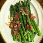 Asparagus, Ham, and Lemon - This simple ham and asparagus dish is fast to make and the bright touch of lemon makes it perfect for spring.