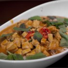 Panang Curry with Chicken - Panang curry paste, coconut milk, and chicken breast are the base of this simple curry dish.