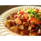 Ham Hash With Sweet Potatoes & Thyme - If you have a pound of ham plus potatoes and a few seasonings, you can whip up this brunch classic!
