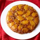 Chef John's Pineapple Upside-Down Cake - This iconic American dessert looks like a simple, rustic fruit cobbler when it comes out of the oven, all browned and bubbling, but a few minutes later, when it's turned over and that gloriously caramelized surface is revealed, it becomes so much more.