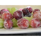 """Spa""ctacular Frozen Grapes - Frozen sugar-coated grapes are a perfect after-school snack, party appetizer, or late-night snack."