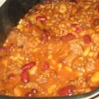 Calico Beans - These hearty beans full of ground beef and bacon are great for a picnic or potluck.