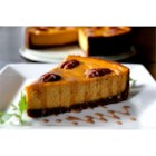 Carrot Cheesecake with Crumb Crust - Very elegant cheesecake.