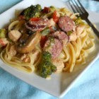 Ragin' Cajun Pasta - This Cajun-inspired pasta dish is chock full of veggies.