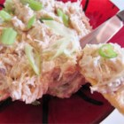 Crab 'N Shrimp Dip - I always have this for a filler with company around the holidays, fun to serve with holiday shaped crackers that are available.