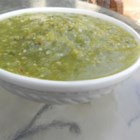 Tomatillo Salsa Verde - This authentic Mexican salsa verde has a fabulous flavor. Use it on chicken enchiladas or as a condiment for any dish that needs a little extra zip!