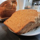 Hearty Multigrain Bread - This  bread is a solid textured loaf appropriate for sandwiches, spreads or eating with a meal.  It has two kinds of grains and three kinds of seeds in it.  It is solid and hardy; yet light and sweet.