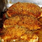 Chicken Breasts Stuffed with Perfection - An impressive dish to serve for company. Chicken breasts are rolled around a delicious filling of feta cheese, sour cream, spinach, sun-dried tomatoes, garlic, and mushrooms. Then coated with a breadcrumb mixture and baked. They are easily prepared a day ahead.