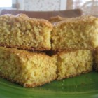 Excellent and Healthy Cornbread - This cornbread recipe contains no oil and tastes very, very good. Serve warm with honey, butter or margarine.