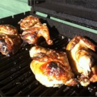 BBQ & Grilled Whole Chicken