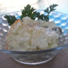 Benny's Potato Salad - This is my potato salad I have created for many family gatherings. The olives and dill relish give it a twist from the typical bland salad. Everyone always brags on me about it. Enjoy!