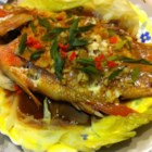 Chinese-Style Steamed Fish - Easy to prepare, hard to mess up, and very versatile - this steamed fish dish is seasoned with fresh ginger, garlic, and soy sauce.