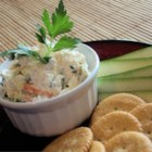 Creamy Vegetable Sandwich Spread - This creamy veggie spread is easy to make and tastes great on slices of party rye, or in sandwiches