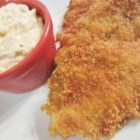 Spicy Tartar Sauce - Traditional ingredients in preparing tartar sauce, such as mayonnaise and dill pickle relish, are joined by non-traditional elements like cayenne pepper and hard-cooked egg, to deliver a spicy variety on a classic sauce.