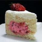 Fruit-Filled White Cake