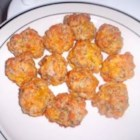 Sausage Balls II - These are easy, delicious, and great for any party!  I make them every year as appetizers for Christmas. These can be refrigerated for a few days if any are left over.